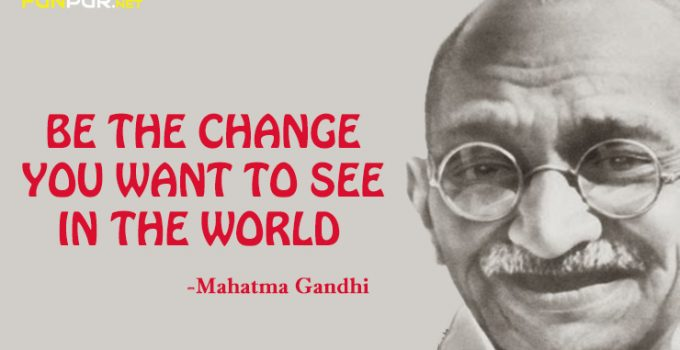 Mahatama Gandhi Thought