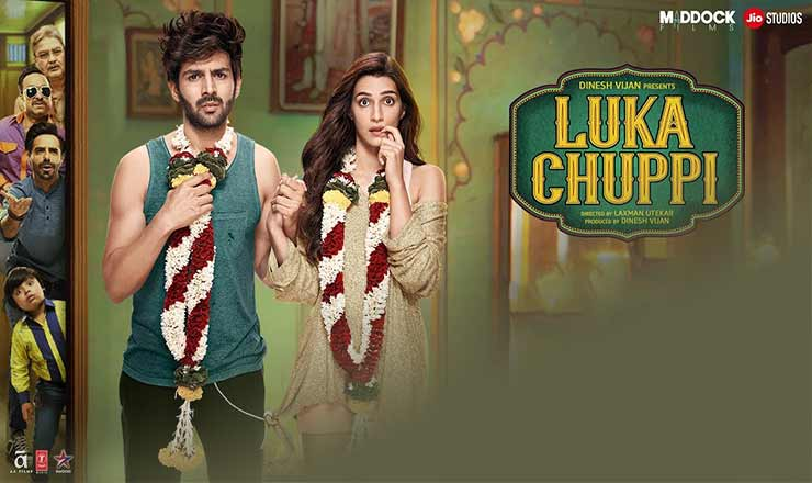 Luka chuppi dialogues, poster, story, cast, Release date